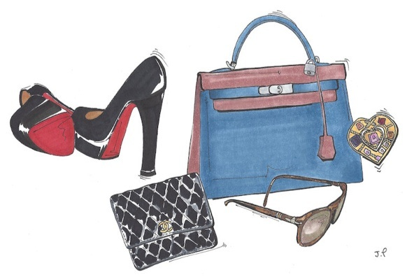 Concierge fashionillustration